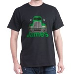 Trucker James Dark T-Shirt