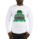 Trucker James Long Sleeve T-Shirt