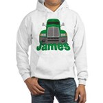 Trucker James Hooded Sweatshirt