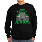 Trucker James Sweatshirt (dark)