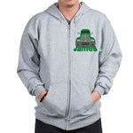 Trucker James Zip Hoodie