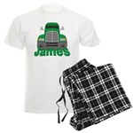 Trucker James Men's Light Pajamas