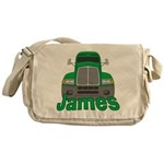 Trucker James Messenger Bag