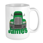 Trucker James Large Mug