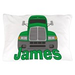Trucker James Pillow Case