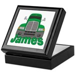 Trucker James Keepsake Box