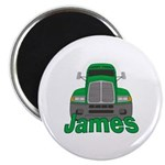 Trucker James Magnet