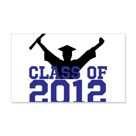 2012 Graduation 22x14 Wall Peel