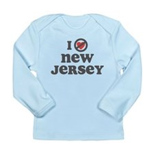 Don't Heart New Jersey Long Sleeve Infant T-Shirt