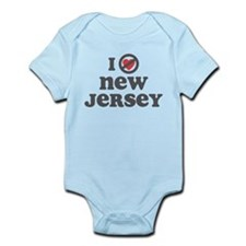 Don't Heart New Jersey Infant Bodysuit