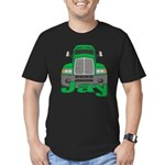 Trucker Jay Men's Fitted T-Shirt (dark)