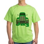 Trucker Jay Green T-Shirt