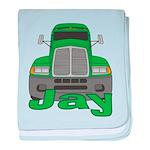Trucker Jay baby blanket
