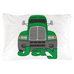 Trucker Jay Pillow Case