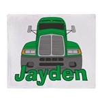 Trucker Jayden Throw Blanket