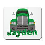 Trucker Jayden Mousepad