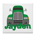 Trucker Jayden Tile Coaster