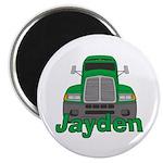 Trucker Jayden Magnet