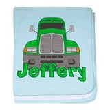 Trucker Jeffery baby blanket