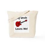 My Uncle Loves Me! w/guitar Tote Bag