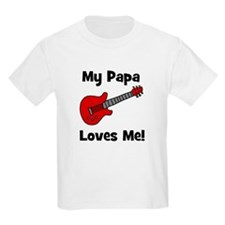 My Papa Loves Me! w/guitar Kids T-Shirt