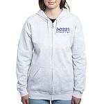 90221 Compton California Women's Zip Hoodie