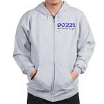 90221 Compton California Zip Hoodie