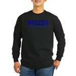 90221 Compton California Long Sleeve Dark T-Shirt