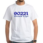 90221 Compton California White T-Shirt