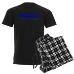 90221 Compton California Men's Dark Pajamas