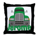 Trucker Jerome Throw Pillow