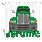 Trucker Jerome Shower Curtain