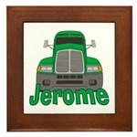 Trucker Jerome Framed Tile