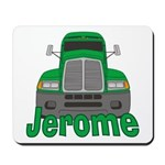 Trucker Jerome Mousepad