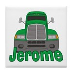 Trucker Jerome Tile Coaster
