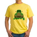 Trucker Jerry Yellow T-Shirt