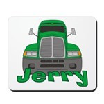 Trucker Jerry Mousepad