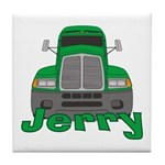 Trucker Jerry Tile Coaster