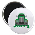 Trucker Jerry Magnet