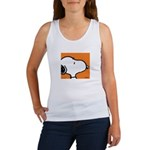 Fresh Orange Snoopy Women's Tank Top
