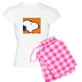 Fresh Orange Snoopy  Pyjamas
