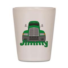 Trucker Jimmy Shot Glass