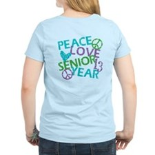 PEACE LOVE SENIOR 2013 T-Shirt