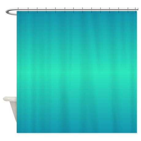 Turquoise Shower Curtain 01015 00002 R By Shower Curtains