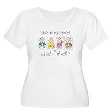 NICU NURSE 4 Babies Plus Size T-Shirt