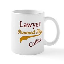 lawyer Powered by coffee Mugs