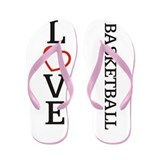 LOVE Basketball Flip Flops