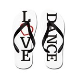 Big LOVE Dance Flip Flops