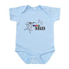 Cute Color guard flag Infant Bodysuit