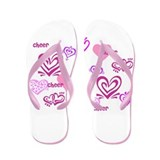 Love Cheer Flip Flops